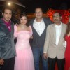 Rahul and Dimpy Ganguly Mahajan grace Deepshikha and Kaishav Arora sangeet ceremony in Mumbai