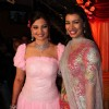 Mink Brar with Deepshikha Nagpal in her sangeet ceremony in Mumbai