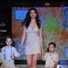 Karishma Tanna with Kids walk on the ramp at India Kids Fashion Week 2012 Day 2 in Mumbai