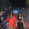 Sushmita Sen walks the ramp at India Kids Fashion Week 2012 Grand Finale at Hotel Lalit Intercontinental in Mumbai