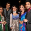 Munisha, Poonam & Manish Goel, Mouli and Mazher grace Deepshikha and Kaishav Arora wedding reception