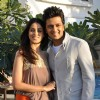 Ritesh Deshmukh & Genelia Dsouza during the music launch of film Tere Naam Love Ho Gaya in Mumbai