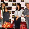 Sanjay Dutt, Priyanka and Hrithik at PVR Gurgaon to promote their film 'Agneepath' in New Delhi