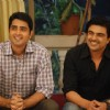 Mukesh Solanki with Sameer Soni in tv show Parichay