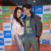 Ali Zafar & Aditi Rao Hydari at the music launch of movie 'London Paris Newyork' at Radio City