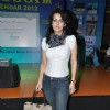 Tulip Joshi at Gold Gym 2012 calendar launch in Bandra, Mumbai