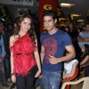 Prateik & Shazahn at Gold Gym 2012 calendar launch in Bandra, Mumbai