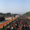 Prithvi Missile at Rajpath during the Republic Day celebrations, in New Delhi