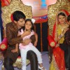 Gurmeet Choudhary & Kratika Sengar at ZEE TV Punar Vivah serial launch at Westin Hotel