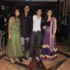 Hussain, Tina, Sharad & Keerti at Ritesh & Genelia Sangeet ceremony at Hotel TajLands End in Mumbai