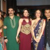 Arbaaz, Malaika, Amrita & Aditi at Ritesh & Genelia Sangeet ceremony at Hotel TajLands End in Mumbai