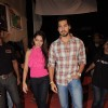 Shazahn Padamsee & Dino Morea at Dhristi college fest at Juhu