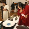 Noted film director Netra Nair at 'Shunya' an exhibition of ceramics by Sonia Ramaswamy Dhingra