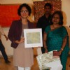 Kiran Rao inaugurates Sangeeta Gupta's Painting Exhibition at Jehangir in Mumbai