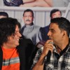 Sajid Khan & Akshay Kumar at First look launch of 'Housefull 2'
