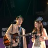 Bollywood actors Ali Zafar & Aditi Rao Hydari promote London Paris New York by performing at the Kala Ghoda Festival