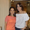Dia Mirza, Sophie Chaudhary at Faarah Khan Valentine Collection launch