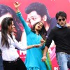 "Genelia D'Souza and Ritesh Deshmukh at a promotional event of their film ""Tere Naal Love ho Gaya"", in New Delhi on Valentine Day 14 Feb 2012"