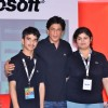 Shahrukh Khan at Don 2 Microsoft promotions at Taj Lands End. .