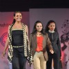 Mandira Bedi at Sophia college fashion show. .