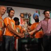 Saif Ali Khan at WSH Hockey press meet at Trident