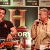 Salman Khan at the launch of HISTORY TV 18's three initiatives in Mumbai