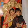 Kratika Sengar with onscreen son
