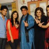 Rajan Shahi�s  on the set get together for Jamuna Paar