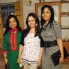 Pooja Joshi, Lata Saberwal at Rajan Shahi�s  on the set get together for Jamuna Paar