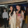 Mouni Roy and Aamna Shariff at Aamir-Sanjeeda's wedding