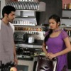 Drashti Dhami as Geet & Gurmeet Choudhary as Maan in Geet Hui Sabse Parayi kitchen scene