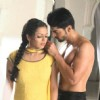Drashti Dhami as Geet & Gurmeet Choudhary as Maan in promo making