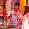 Arjun and Lakshmi still from Rang Barse