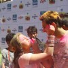Nandish Sandhu with Rashmi Desai Sandhu at Zoom Holi Basholi bash