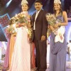 Ms. Nikita Sharma (Winner of Indian Princess), Org. Mr. Sunil Rane & Ms. Serina Kalapersad (Winner of Indian Princess International) at 'Indian Princess' Grand Finale.
