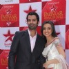 Sanaya Irani and Barun Sobti at STAR Parivaar Awards Red Carpet