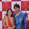 Anas Rashid and Deepika at STAR Parivaar Awards Red Carpet