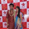 Kushal Tondon and Nia Sharma at STAR Parivaar Awards Red Carpet
