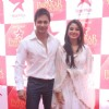 Shaleen Bhanot and Deblina Chatterjee at STAR Parivaar Awards Red Carpet