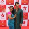 Shruti Ulfat and Sooraj Thapar at STAR Parivaar Awards Red Carpet