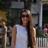 Tara Sharma at C N Wadia Gold Cup
