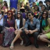 Karan Singh Grover, Deepshika Nagpal and Tara Sharma along with kids