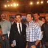 Aamir Khan and Sachin Tendulkar at CNN IBN Heroes Event