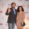 Parveen Dusanj and Kabir Bedi at Times Now 'The Foodie Awards'