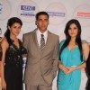 Akshay Kumar, Asin and Zarine Khan at Times Now 'The Foodie Awards'