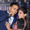 Akshay Kumar and Asin at the unveiling of cover page of latest issue of stardust magazine