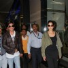 Shahrukh Khan and Katrina Kaif arrived at Mumbai airport from London