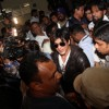 Shahrukh Khan arrived at Mumbai airport from London