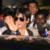 Shahrukh arrived at Mumbai airport from London