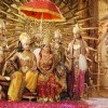 Gurmeet and Debina in Ramayan